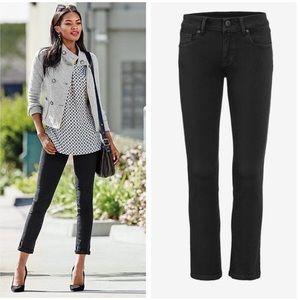 CAbi Black New Crop Jeans Sz.4